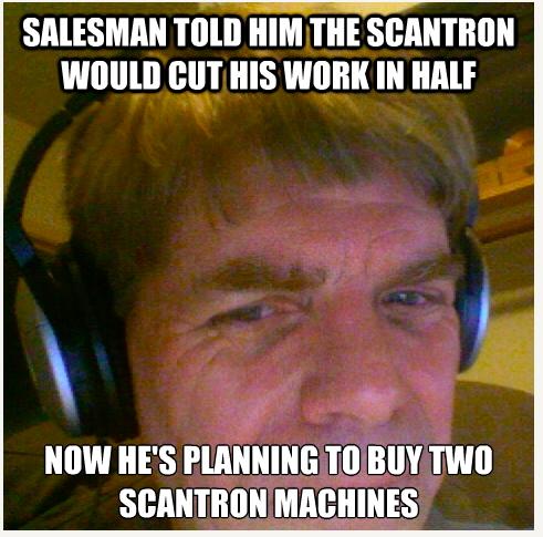 2-Scantron-machines