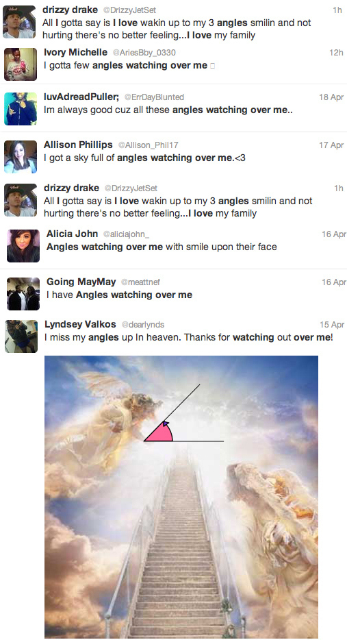 Angles Twitter Fail