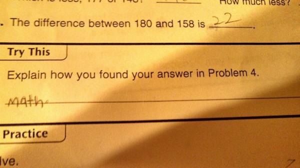 Explain math