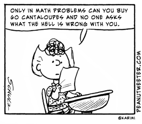 Cartoon Funny Math Jokes