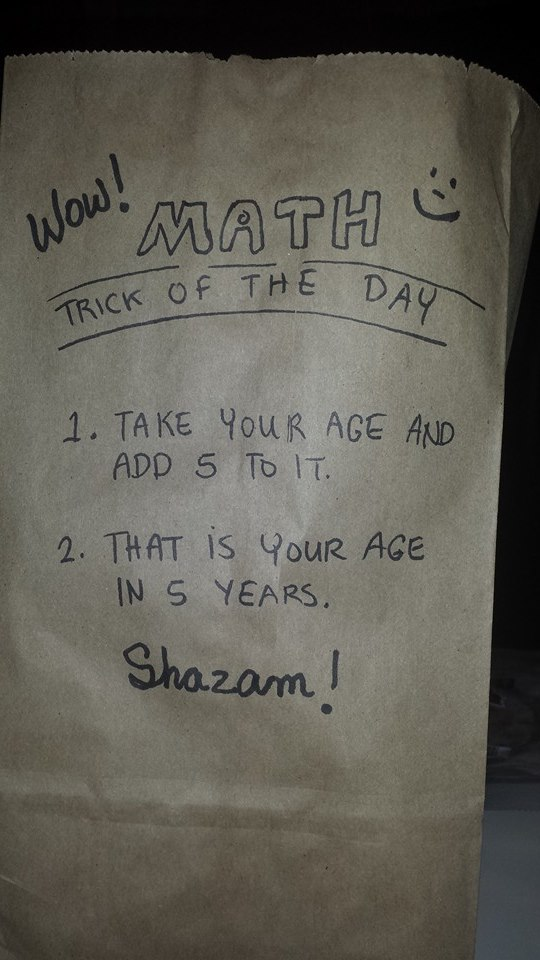 Math Trick of the Day