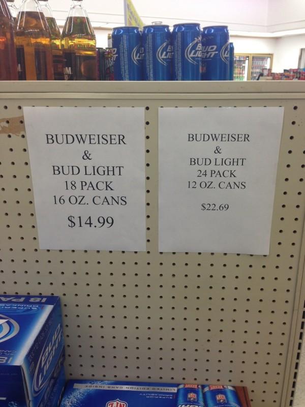 Pricing Fail 2