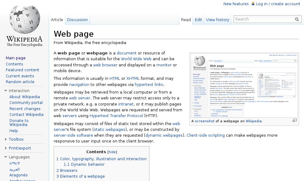 Wikipedia recurrsion