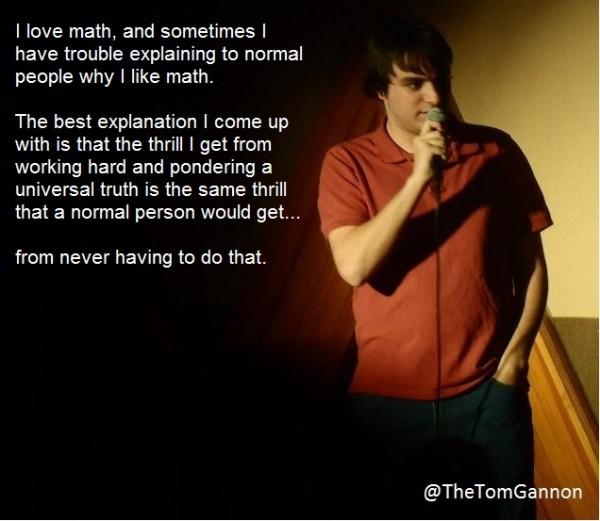 Why I love math