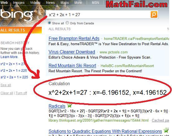 math bing