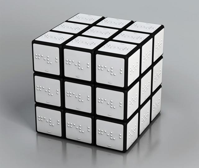 rubiks cube for the blind