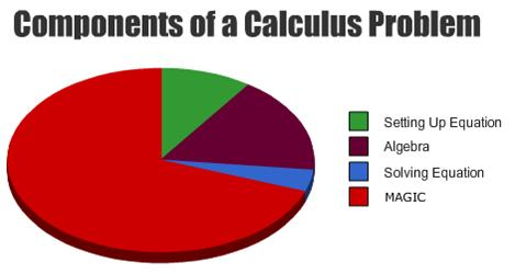 calculus pie chart