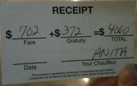 chauffeur math fail