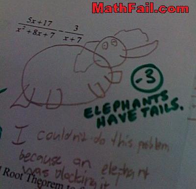 elephant correction