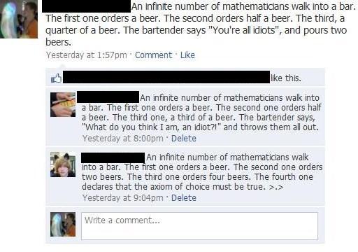 facebook math
