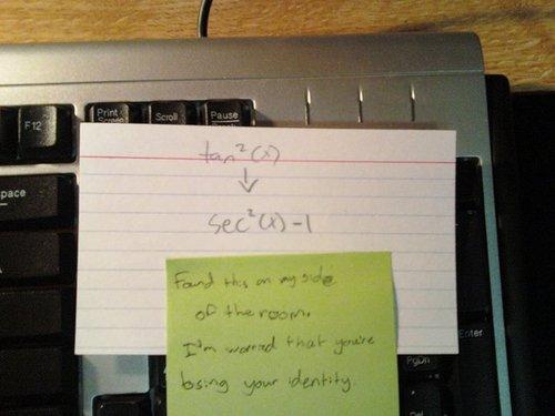 math note