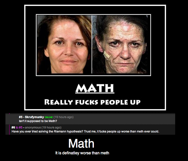 math vs meth