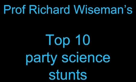 science party tricks video