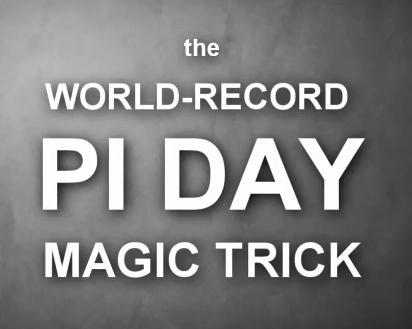 pi day magic