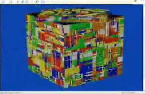 Solving a 1000x1000x1000 Rubiks cube