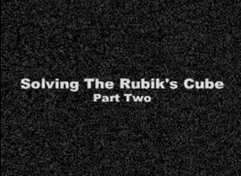 rubiks cube video part 2