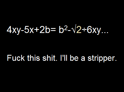 stripper math