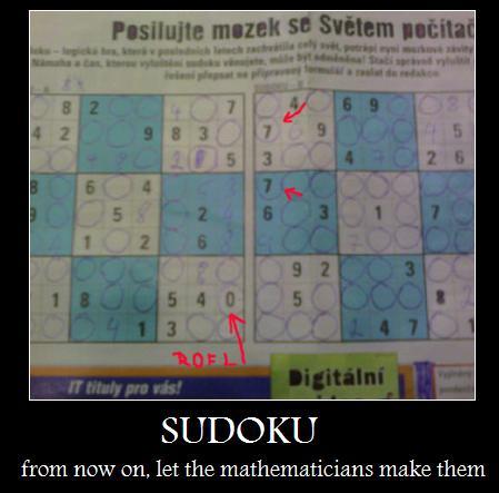 sudoku fail