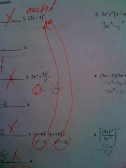 test fail pic