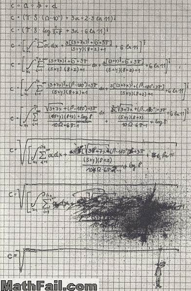 messy math