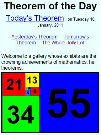 theorem of the day