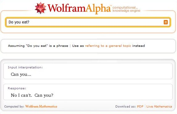 wolfram alpha fun