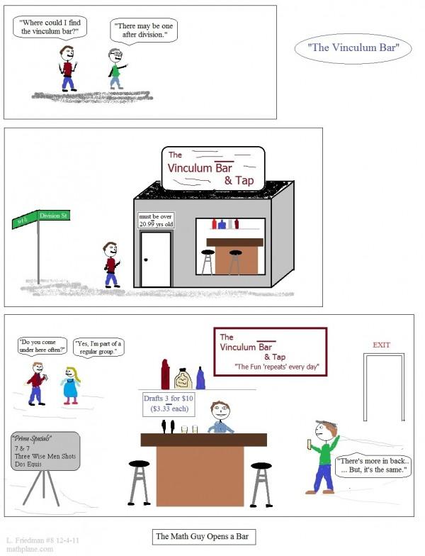 webcomic 8 the vinculum bar